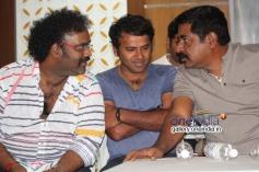 V Harikrishna, Yograj Bhat at Parapancha Movie Press Meet