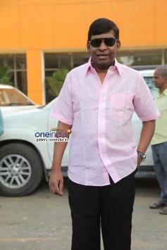 Vadivelu at Thenaliraman film audio launch