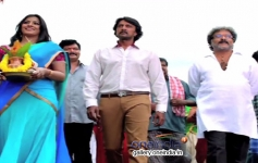 Varalaxmi Sarathkumar, Sudeep and Ravichandran in Kannada Movie Maanikya