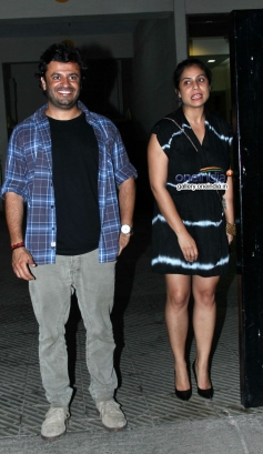 Vikas Bahl at house warming party and birthday bash of Saqib Saleem