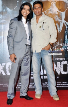 Vipino and Suniel Shetty at Koyelaanchal film trailer launch