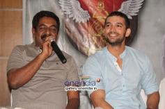 Yograj Bhat, Diganth at Parapancha Movie Press Meet