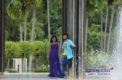 Yuvan and Darshita still from Jacky