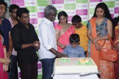 Yuvan Shankar Raja and Suhasini Maniratnam at Green Trends Hair and Style Salon launch