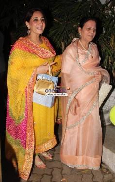 Zeenat Hussain at Baby Shower Ceremony of Avantika Malik