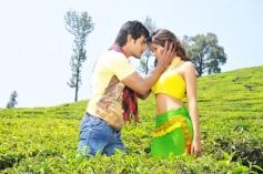 Aadi and Sanvi still from Pyar Mein Padipoyane