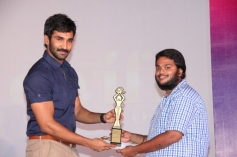 Actor Aadhi at CWIFF 2014 Award Funtion Event