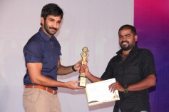 Actor Aadhi at CWIFF 2014 Awards