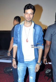 Actor Aakash Dahiya at Bobby Jasoos Trailer Launch