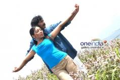 Actor Arun and Sarmistha stills from Jabaali