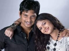 Actor Jeeva and Anuya Bhagvath still from Rangam Modalaindi