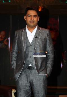 Actor Kapil Sharma at Anupam Kher's Kuch Bhi Ho Sakta Show