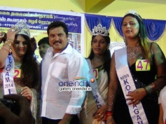 Actor Sarathkumar at Koovagam Beauty Show