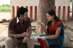 Actor TS Vasan and Mridula Vijay in Jennifer Karuppaiya Images