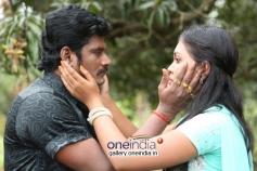 Actor TS Vasan and Mridula Vijay in Jennifer Karuppaiya