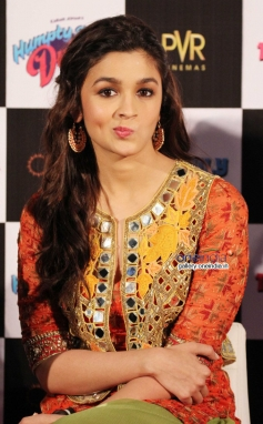 Actress  Alia Bhatt at Humpty Sharma ki Dulhania First Look Launch