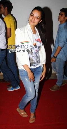 Actress Anita Hassanandani at Special Screening of Kuku Mathur Ki Jhand
