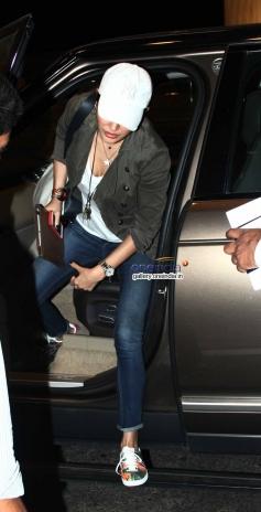 Actress Anushka Sharma Leaves for Barcelona for Zoya Akhtar's Dil Dhadakne