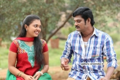 Actress Mridula Vijay and TS Vasan in Jennifer Karuppaiya