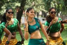 Actress Sanyathara in Meimaranthen Movie