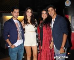 Aditya Seal, Izabelle Leite, Sona Mohapatra and Tanuj Virwani at Purani Jeans film screening