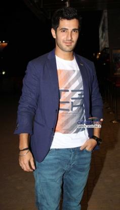 Aditya Seal at Purani Jeans film screening