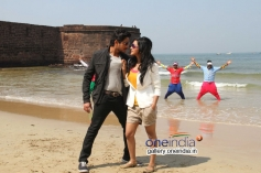 Ajay Rao and Shravya in Kannada Film Rose