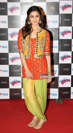 Alia Bhatt at Humpty Sharma ki Dulhania First Look Launch