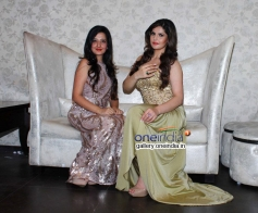 Amy Billimoria displays her eco friendly collection