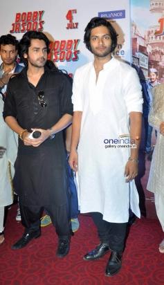 Arjan Bajwa at Bobby Jasoos Trailer Launch