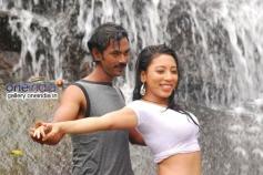 Arun and Sarmistha stills from Telugu Movie Jabaali