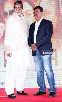 BIG B attends the first look launch of Deepak Sawant's film Leader