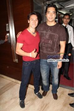 Bollywood Actor Tiger Shroff Promotes Heropanti at Cinemax
