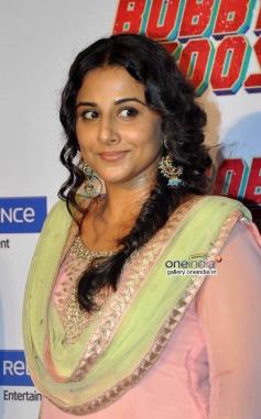 Bollywood Actress Vidya Balan at Bobby Jasoos Trailer Launch