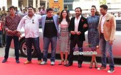 Chunky Pandey, Ram Kapoor, Sajid Khan, Tamanna Bhatia, Saif Ali Khan,  Esha Gupta at Press Conferenc