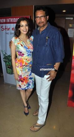 Dia Mirza and Kiran Kumar at Bobby Jasoos Trailer Launch