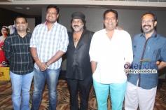 Dinakar Thoogudeep, Ravichandran, Prakash Raj, B. Suresh at Oggarane Film Press Meet