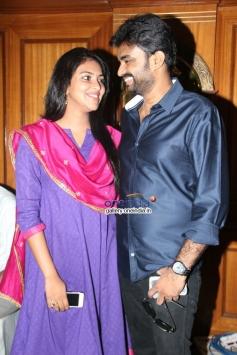 Director A. L. Vijay & Actress Amala Paul Press Meet Photos