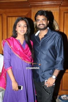 Director A. L. Vijay and Actress Amala Paul Press Meet Photos