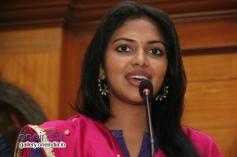 South Indian Actress Amala Paul Press Meet Photos