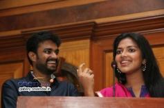 Director A. L. Vijay and Actress Amala Paul Press Meet Pictures