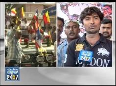 Fans Celebration for Kochadaiyaan Movie in Bangalore