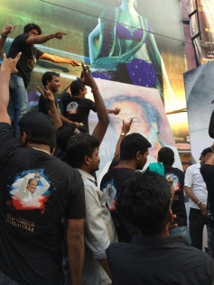 The power of Rajni Sir! Mad fight to be first one to enter the screen for Kochadaiiyaan