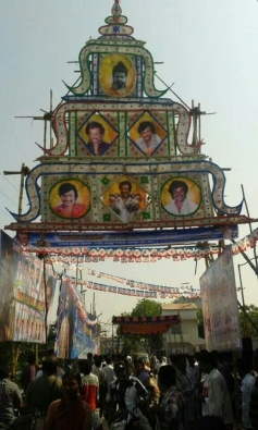 Fans Celebration for Kochadaiyaan Movie in Sivakasi
