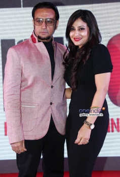 Gulshan Grover and Pakhi Hegde at Leader film first look launch