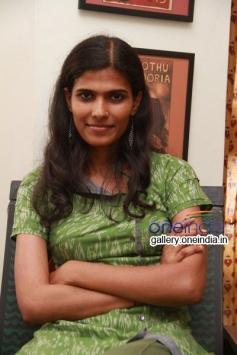 Halitha Shameem at Poovarasam Peepee Press Meet