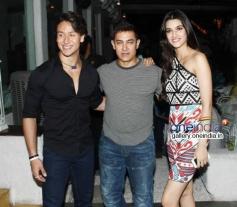 Heropanti success Bash Aamir Khan, Tiger Shroff and Kriti Sanon