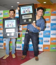 Himesh Reshammiya and Sajid Khan at Humshakals Music Premier at Radio City Office