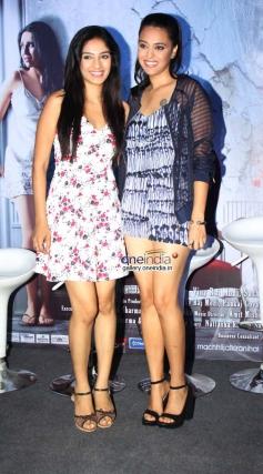 Hritu Dudani & Swara Bhaskar at Machhli Jal Ki Raani Hai Trailor Launch and Press Conference
