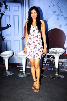 Hritu Dudani at Machhli Jal Ki Raani Hai Trailor Launch and Press Conference
